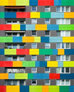 Colorful and Brilliant Architecture Photography by Yat Ng