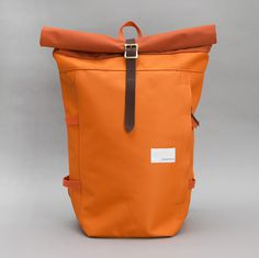 Nanamica — Cycling Pack #bag #orange #buckle