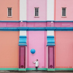 Architectural Self-Portraits by Photography Duo Daniel Rueda and Anna Devís