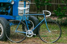 Beautiful Bicycle: Andy\'s Euro Track with Campagnolo Pista