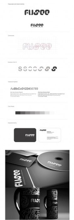 FUSEE CORPORATE IDENTITY & CONCEPTS & DESIGNS on the Behance Network #logo #process #branding #typography