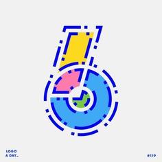 Logo / 119 . Number 6