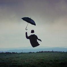 Vincent Bourilhon #umbrella #photography #hat #art #invisible #coast