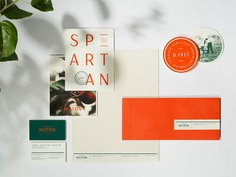 "Brand Identity for Cidrerie Milton by Agency lg2 ""For the cider maker's new identity, the creative team chose colours inspired by the company's heritage and the raw material itself—green—and its boldness—a bright, solid orange. The objective was to..."