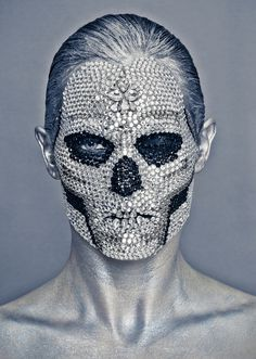 東Shin Tokyo京 : 画像 #skull #portrait #diamond