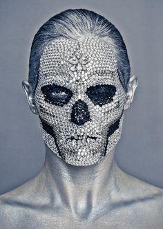 東Shin Tokyo京 : 画像 #skull #diamond #portrait