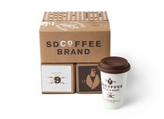 Allan Peters | Minneapolis Advertising and Design Blog: SDCoFFEE #logo #design #graphic #branding