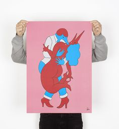 pierced poster (open edition) | by Parra