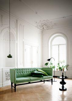 space copenhagen designs pendant light for &tradition at IMM cologne #sofa