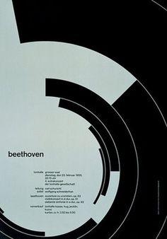 Flyer Design Goodness - A flyer and poster design blog: Classic Swiss Poster Designs by Josef Müller-Brockmann #swiss #muller #print #design #graphic #poster #josef #brockmann