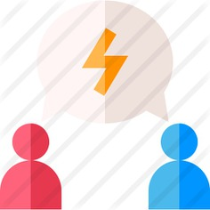 See more icon inspiration related to discuss, debate, chat bubble, speaking, discussion, conversation, communications, user, speech bubble, talk, talking and people on Flaticon.