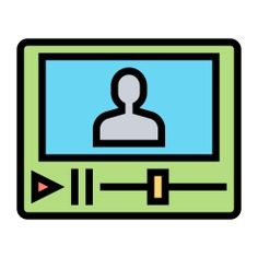 See more icon inspiration related to teacher, class, video, screen, video lecture, elearning, course, online education, lecture, education, online, internet and technology on Flaticon.