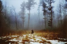 Untitled | Flickr Photo Sharing! #cloak #stranger #wood #photography #alone #forest #trees #walk