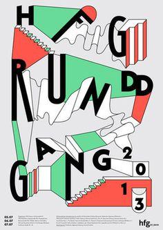HfG Offenbach Rundgang | Slanted - Typo Weblog und Magazin #type