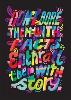 katemoross #lettering #poster