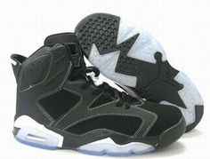 Nike Air Jordan 6 Retro Grey/Black Men's #shoes