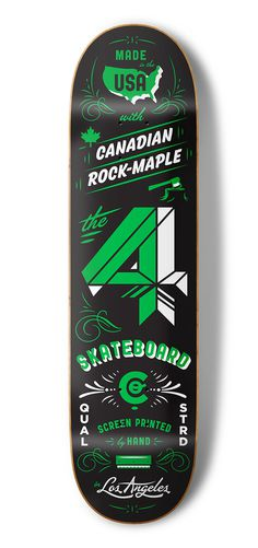 4 Skateboard Co - Kendrick Kidd #deck