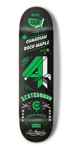 4 Skateboard Co - Kendrick Kidd