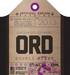 ord-tag #beer #tag #bottle