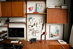 Freunde von Freunden — Johanna Burke — Set Designer, Apartment and Studio, Brooklyn, New York — http://www.freundevonfreunden.com/inte #workspace