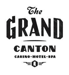 The Grand Canton logo | Flickr Photo Sharing! #logo #logotype #typography