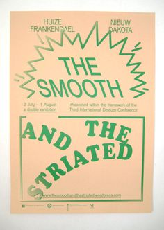 The Smooth And The Striated #print #poster