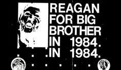 Big Brother '84 | Flickr - Photo Sharing! #1984 #hardcore #reagan #1980s