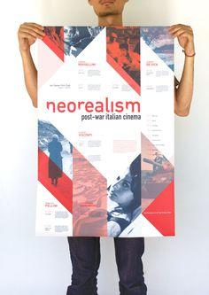 Italian Neorealism Cinema Series #blue #red #neorealism