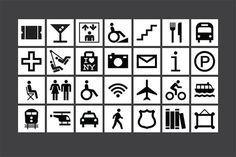 Icons designed by Pentagram for the program. #york #city #pentagrams #new