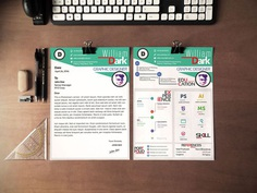 Free Creative Resume and Cover Letter for Designer