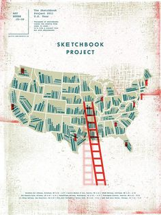 The Sketchbook Project | Two Arms Inc. #usa #illustration #books