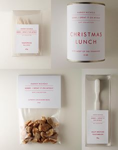 If It's Hip, It's Here: Harvey Nichols Hilariously Markets Christmas Shopping To The Selfish This Season. #packaging