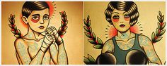 Flash Paintings by Quyen Dinh #tattoo