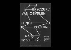 HIRYCZUK / VAN OEVELEN - Kasper Pyndt #poster #typography