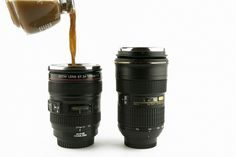 The Camera Lens Mug #photo #camera #design #product #mug #coffee
