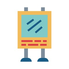 See more icon inspiration related to billboard, Advertisement, poster, announcement, advertising, marketing, signs and sign on Flaticon.