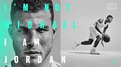 jb-30th-annversary-2 #jordan brand #ad #nike #blake griffin #typography #teal #basketball