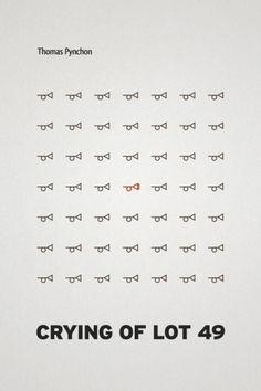 ru_designer: for Thomas Pynchon #cover #thomas #pynchon #typography