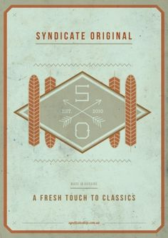 Syndicate Original #original #syndicate #poster #ooli