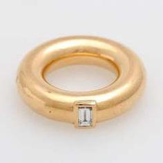 GÜNTER KRAUSS diamond ring,