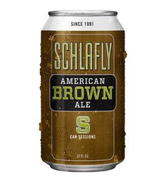 Schlafly Session Brown Can #packaging #beer #can #label