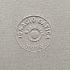 Blok stamp #cuño #ignacio gatica #blok #stamp #art #gracia fernandez #design