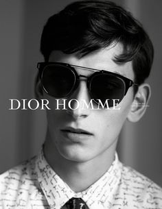 "Dior Homme ""The Letter"" SS15 Campaign #fashion #portrait #dior"