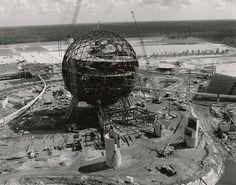 Google Image Result for http://www.imagineeringdisney.com/storage/Imagineering Disney_EPCOT Center Construction 1.jpg #photo #epcot #construction