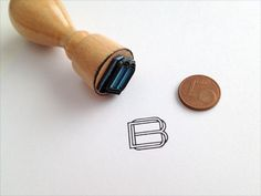 Monogram stamp #monogram #type #stamp #logo