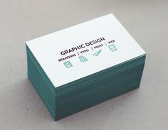 Letterpress card #business #graphicwand #card #letterpress #corporate #identity