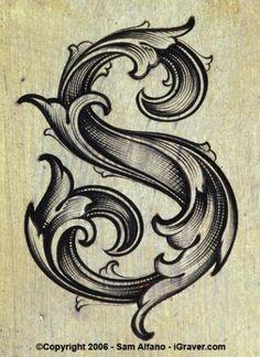 leaf_script-S.jpg (403×552) #illustration #script #typography