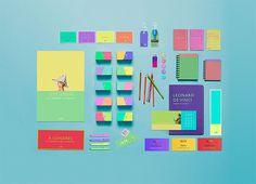 BRANDING / IDENTITY / DESIGN: chroniquedesign: Left:Â A concept shop for...
