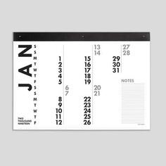 2019 XXL Calendar