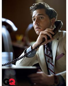 Shia LaBeouf Wall Street Photos #mens